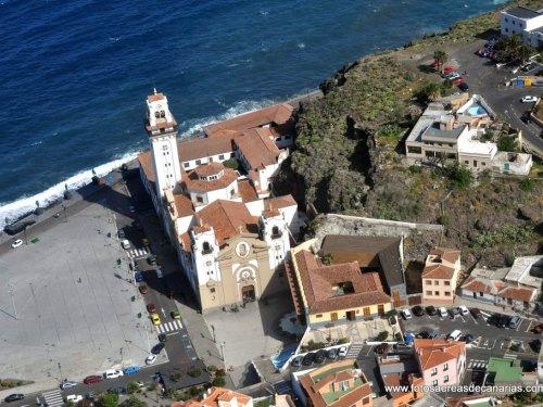 Vista desde el aire de la Basilicia